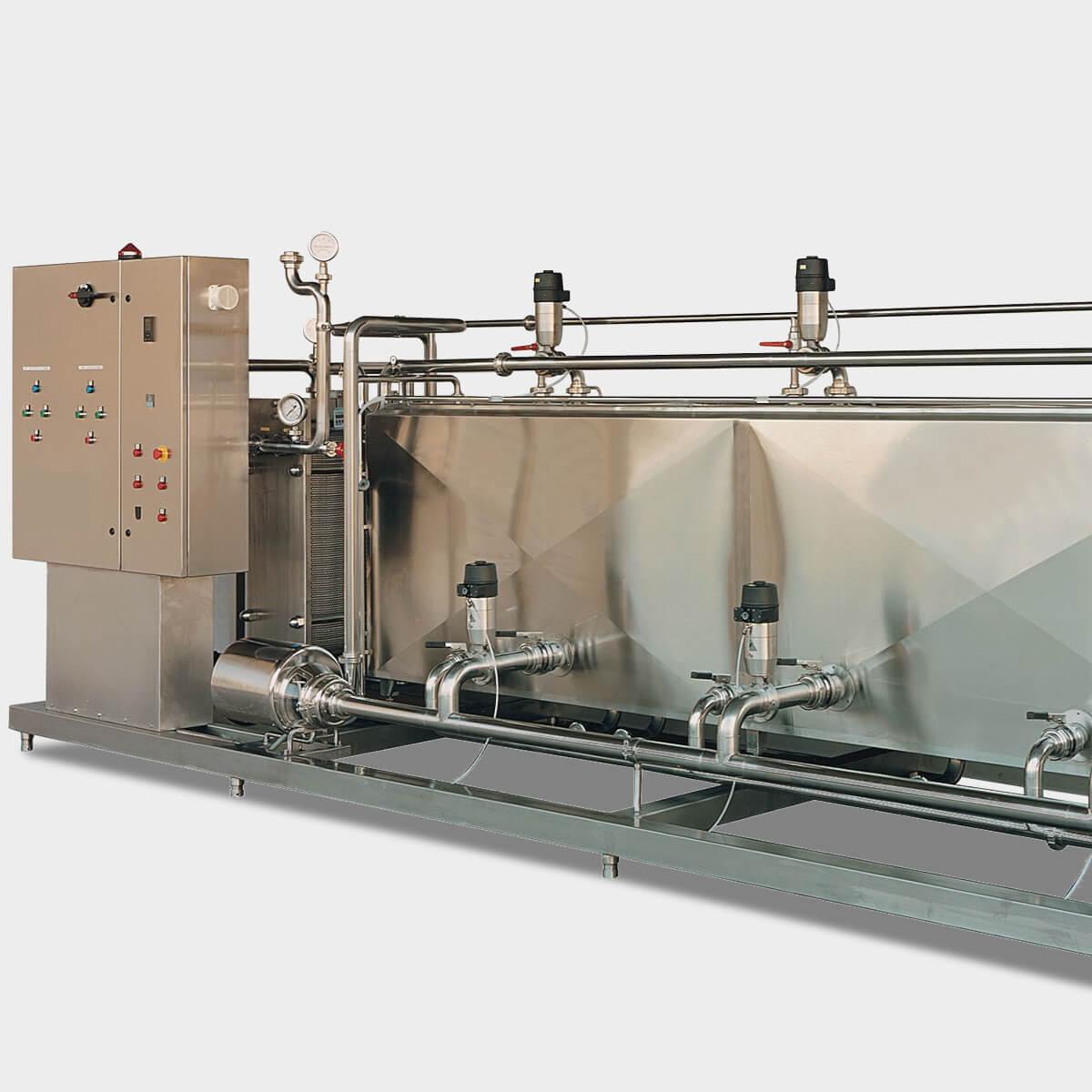 Impianto CIP per il lavaggio Automatico - Casearmeccanica Vicentina cop2
