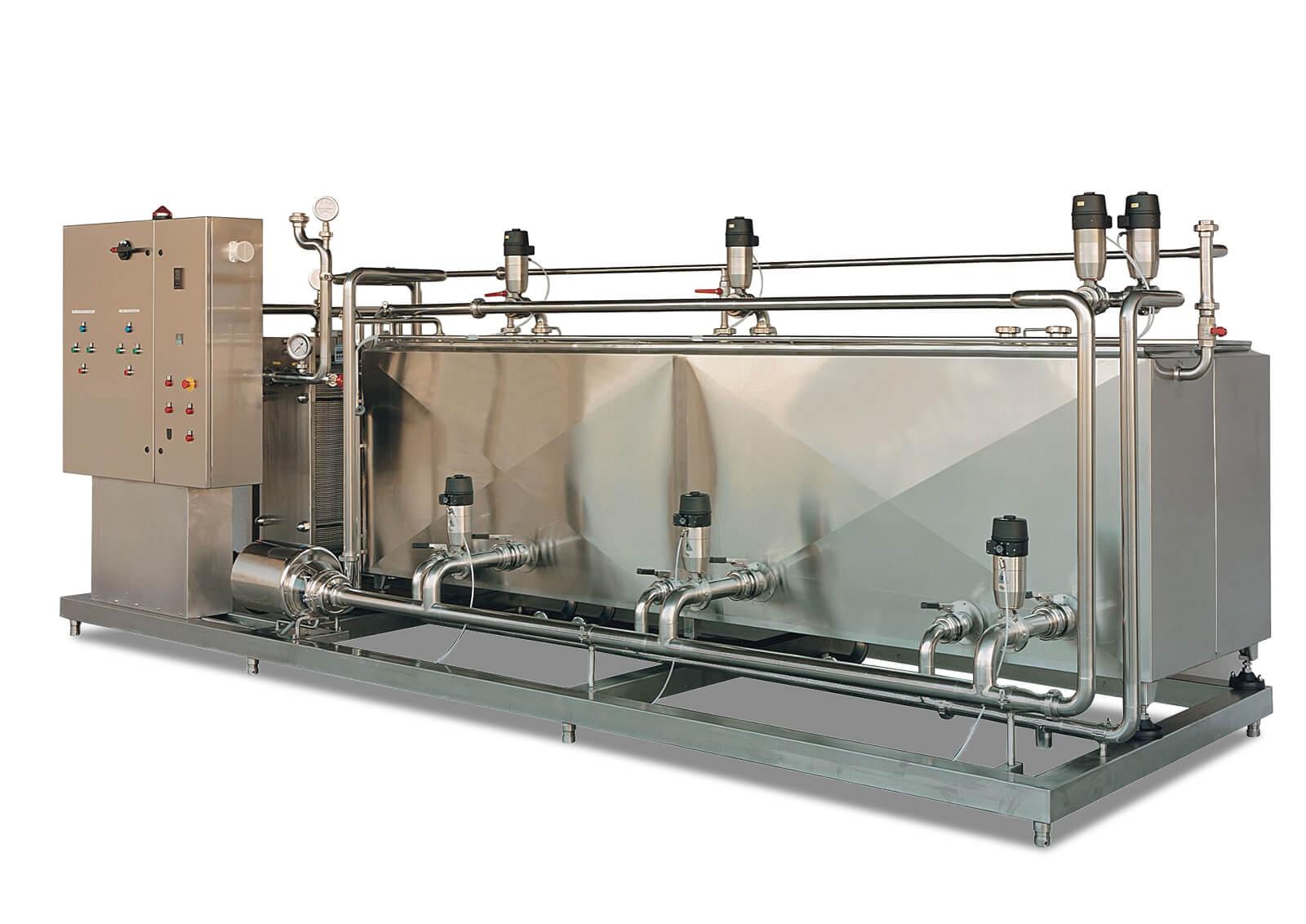 Impianto CIP per il lavaggio Automatico - Casearmeccanica Vicentina cop