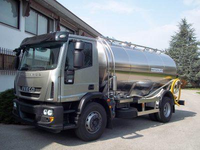 autocisterne per raccolta e trasporto latte