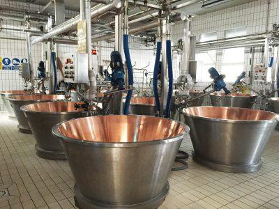 impianti completi per la produzione di formaggio grana padano