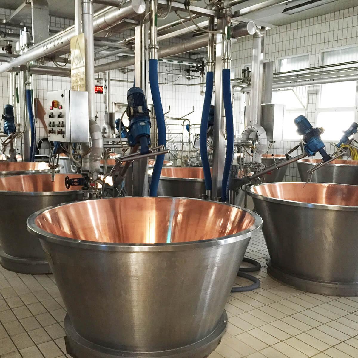 impianti completi per la produzione di formaggio grana padano cop
