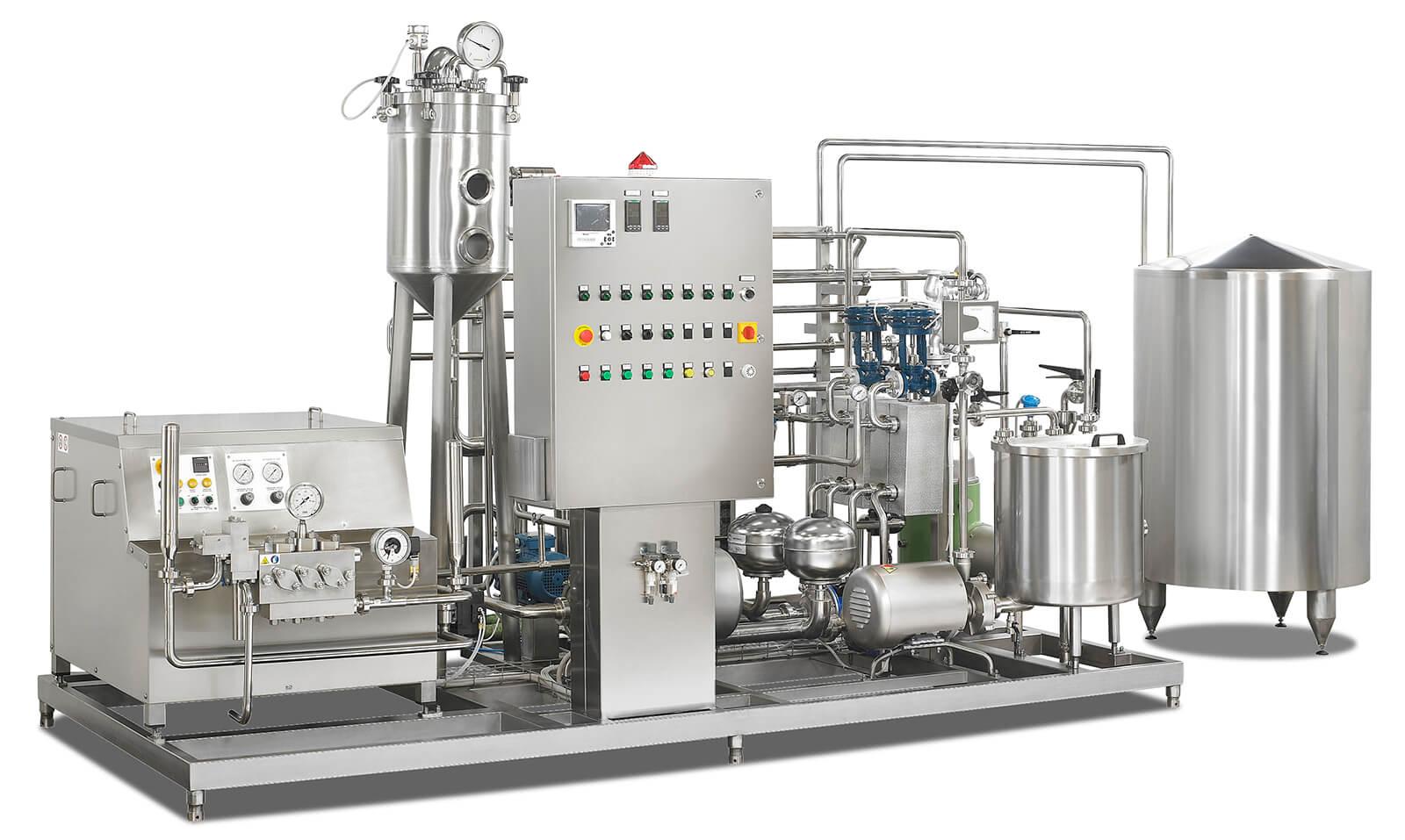 realizzazione impianto di pastorizzazione latte