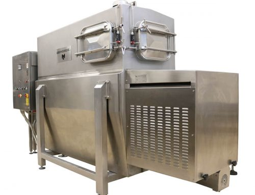 Butter kneading silos