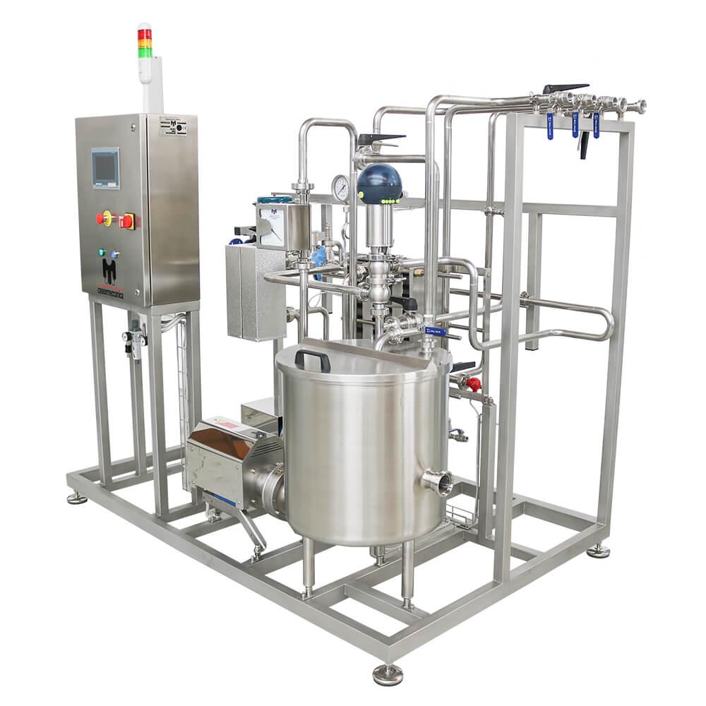 impianto pastorizzazione latte mini caseifici casearmeccanica