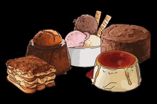 preparati per dessert casearmeccanica vicentina